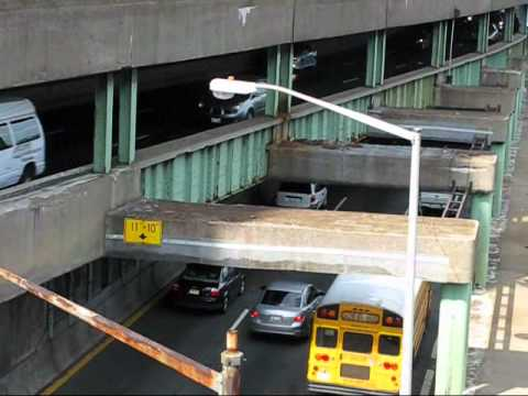 Traffic on FDR Drive, New York City