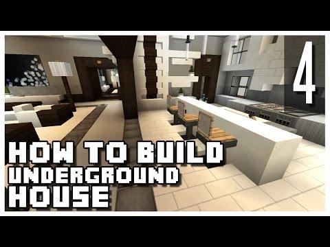 How to Build an Underground House in Minecraft - Part 4