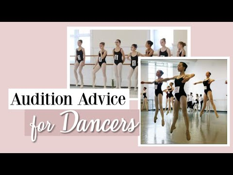 Audition Advice for Dancers | Kathryn Morgan