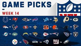 Week 14 Game Picks | NFL 2019