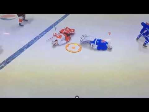NHL 15 Glitch - Goalie Fights