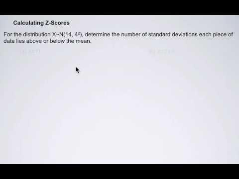 Z score example 1