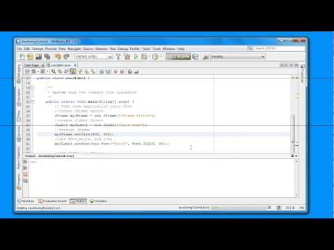 How to set font/style/size on JLabel in java swing programing for beginners