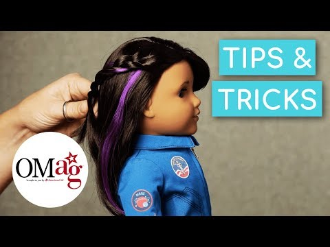 American Girl Luciana Haircare and Space Braids | Doll Hair How-To | American Girl