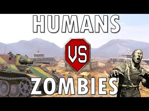 Humans vs Zombies! World of Tanks Blitz