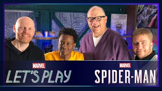 Bill Burr swings around NYC in Marvel's Spider-Man! | Marvel Let's Play