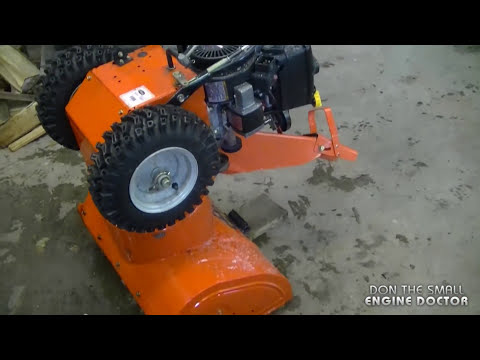 Snowblower Auger Belt Replacement On Ariens 6/24