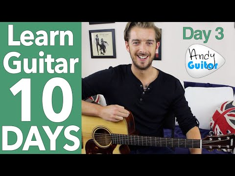 Guitar Lesson 3 - 'Three Little Birds' Guitar Tutorial [10 Day Guitar Starter Course]