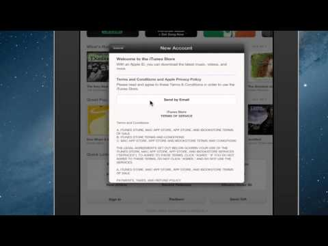 Steps to Register for iTunes on the iPad : iPad Tips & More