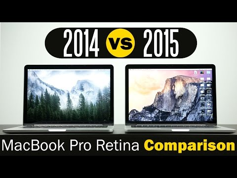 2015 Macbook Pro Retina Vs 2014 Macbook Pro Retina - Speed Test