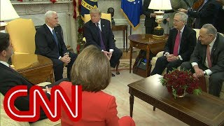 Trump meets with Nancy Pelosi and Chuck Schumer