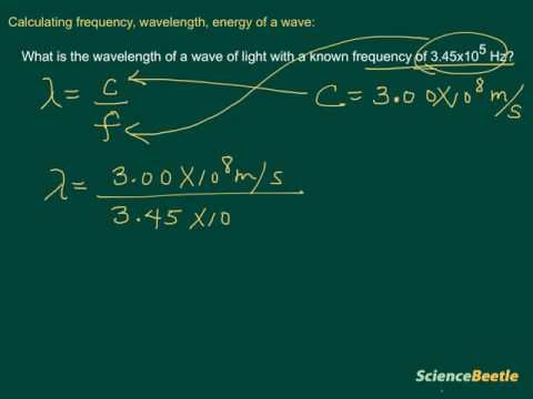 Calculating wavelength of a wave