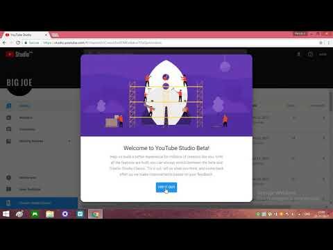 New (YOUTUBE STUDIO BETA) Update Creator Studio Beta | Material Design In - {2017}