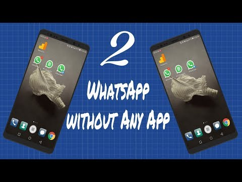one mobile two whatsapp account