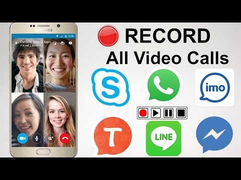How to Record Video call on IMO, Skype, Whatsapp, Facebook on Mobile
