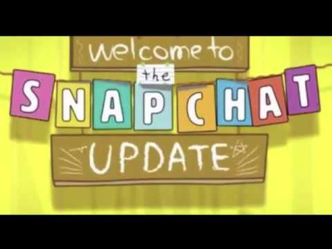 Snapchat Update - 10.24.0.0 , January 25th 2018 (Camera no white frame, new chat features)