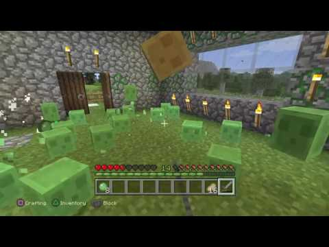 Minecraft:Lets Fight-Slimes [1]