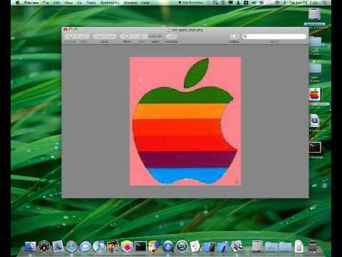 How to Make a Transparent Image With Preview on a Mac!!