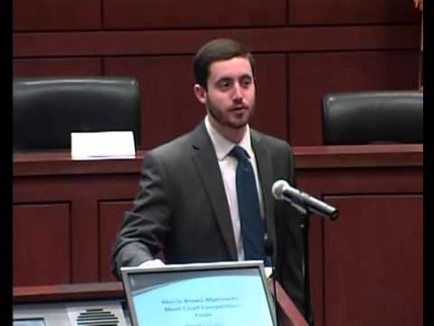 University of Maryland School of Law Myerowitz Moot Court Competition 2015 Final