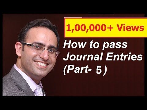 How to make Journal Entries (Video-5) (Journal Entries related to PURCHASE OF GOODS)