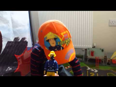 Fireman Sam, Jupiter Fire Engine, toy review.