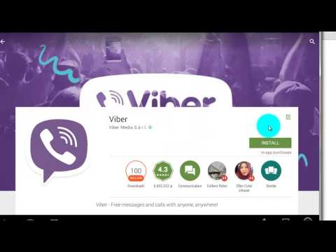 How to Install Viber to your PC | Make Your PC Android