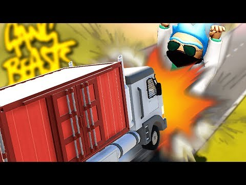 THE MOST EXTREME GANG BEASTING...LIVE! - Gang Beasts Gameplay