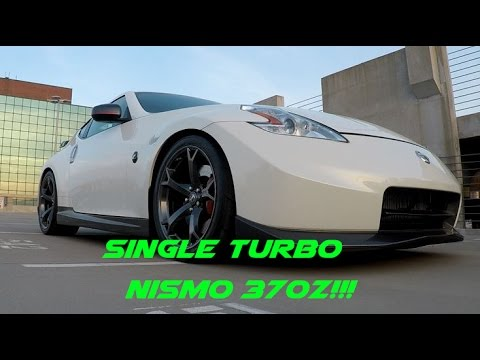 Nate's *730HP* Single Turbo Water-Meth Injected Nismo 370z!!! Crazy Fast!!!!