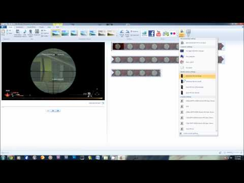 Windows Live Movie Maker | How to get Great Quality | Tutorial