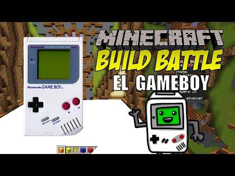 Minecraft: Build Battle, El Gameboy.