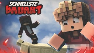 """Die Schnellste Bauart In Minecraft! """"oneblockbridgen"""" - Minecraft Bedwars   Nxtfade"""