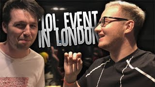 London with Callux & League of Legends!