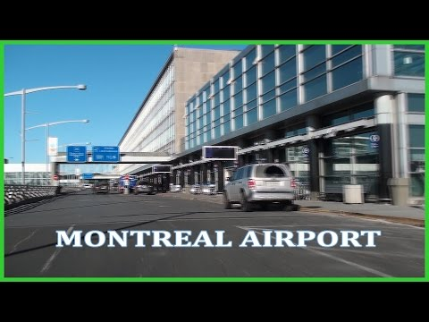Driving to Montreal Airport Full HD