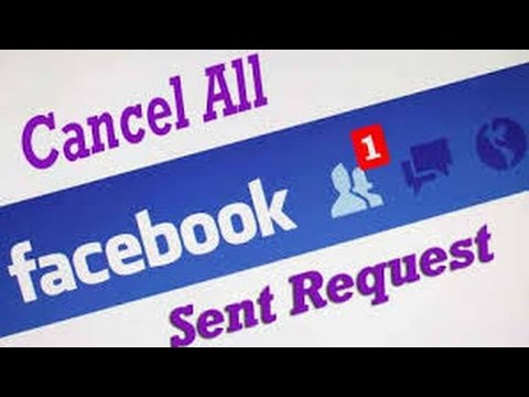 How to Cancel All Pending Sent Friend Request on Facebook Easily
