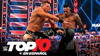 Top 10 Mejores Momentos de RAW: WWE Top 10, Abr 19, 2021