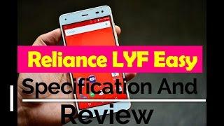 Cheapest 4g smartphone ever Jio LYF Easy @ 1000 rupee