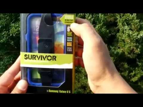 Survivor Case for Samsung Galaxy S5 Toughest Case Available