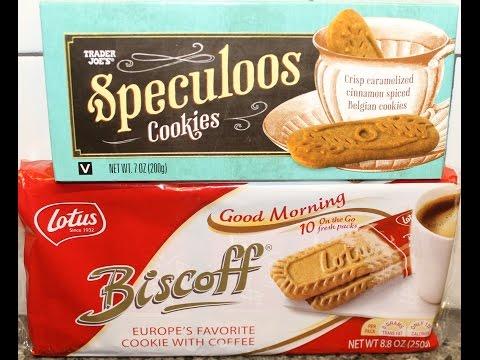 Trader Joe's Speculoos Cookies vs Lotus Biscoff Cookies – Blind Taste Test