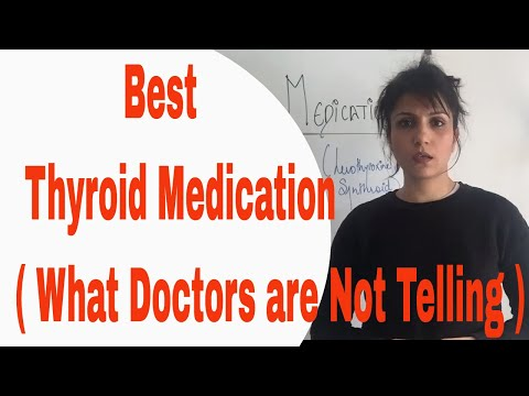 Health Risks of wrong Thyroid Tablets I 4 Type of Thyroid Medications