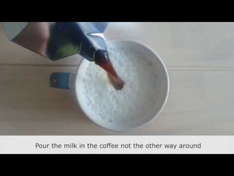 How to Make Cafe Latte at Home without a Machine  | Perfect Coffee
