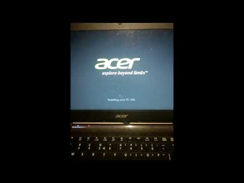 How To Factory Reset Acer Laptop