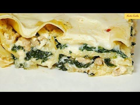 Chicken and Spinach Lasagna Recipe