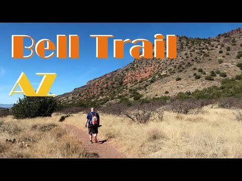Hiking and Photography on Bell Trail in Campe Verde Arizona 2018 Vlog