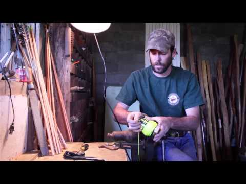 Making a simple bowfishing reel