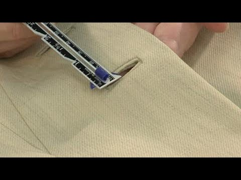 Teach Yourself to Sew: Bound Buttonholes