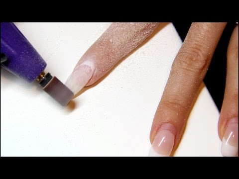 Watch me do my gel nails! Electric and hand filing, prep, refill and shape!