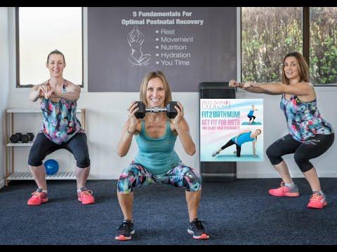 PREGNANCY EXERCISE PROGRAM; We have just upgraded Fit2BirthMum