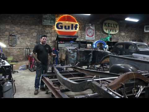 How to Build a 1932 Ford Frame- Sweet Heart Roadster Ep. 19