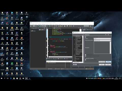 TUTORIAL:Installing the color theme plugin for Eclipse