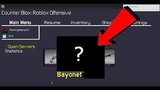 Bayonet Showcase | Counter blox
